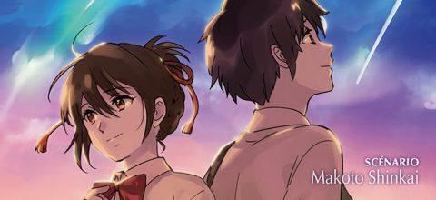 Couverture de Your Name de  SHINKAI Makoto et KOTONE Ranmaru chez Pika (Shônen)